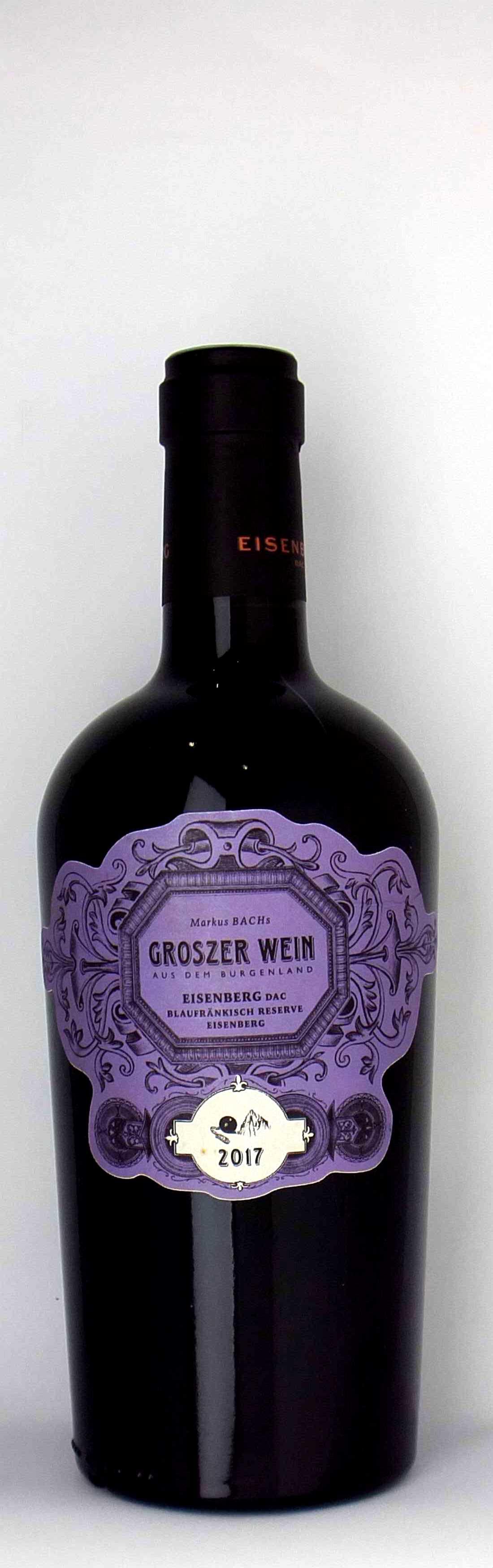 Vinothek Eisenberg Eisenberg DAC Reserve Eisenberg 2017 Groszer Wein