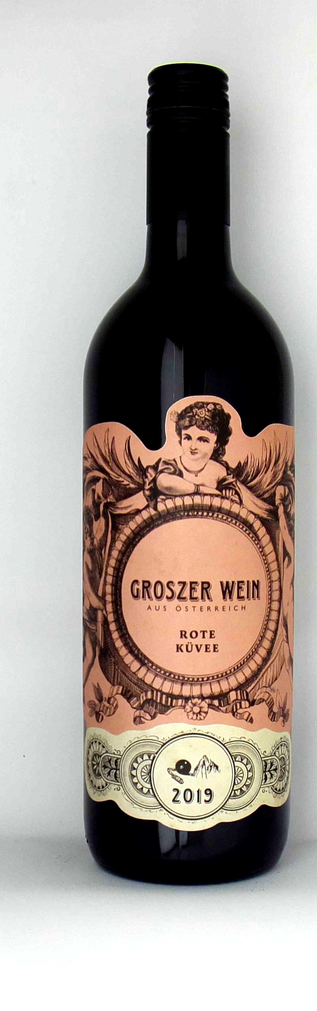 Vinothek Eisenberg Rote Küvee 2019 (BF/CS/ZW) Groszer Wein